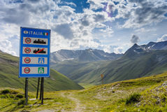 Welcome to Italy Royalty Free Stock Photo