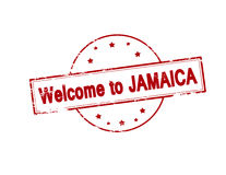 Welcome to Jamaica Stock Image