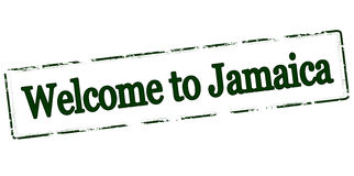 Welcome to Jamaica Royalty Free Stock Photo