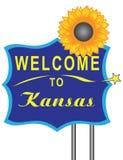 Welcome to Kansas Royalty Free Stock Photos