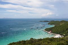 Welcome to Koh Larn Thailand Stock Photo