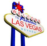 Welcome to Las Vegas Royalty Free Stock Photography