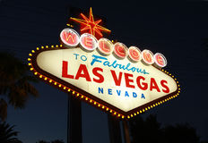 Welcome To Las Vegas Royalty Free Stock Photos