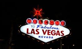 Welcome to las Vegas royalty free stock photos