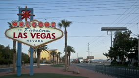 Welcome to Las Vegas stock footage