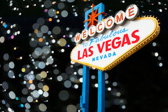 Welcome to Las Vegas Royalty Free Stock Images