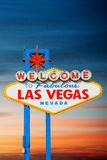 Welcome to Las Vegas Royalty Free Stock Image