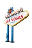 Welcome to Las Vegas Stock Image