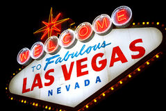 Welcome to Las Vegas, Nevada (USA) Stock Photos