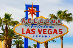 Welcome to Las Vegas sign. Welcome to Fabulous Las Vegas sign Royalty Free Stock Photos