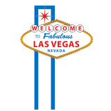 Welcome to Las vegas sign Royalty Free Stock Photography