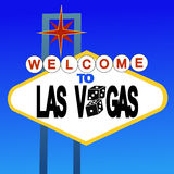 Welcome to Las Vegas sign Stock Photography
