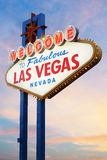 Welcome to Las Vegas Sign Royalty Free Stock Image