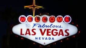 Welcome to Las Vegas Sign Las Vegas Nevada United States Of America time lapse stock footage