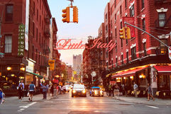 Welcome to Little Italy Royalty Free Stock Image
