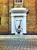 Welcome to London Olympic Games 2012. I think Banksy defined this Olympics perfectly Royalty Free Stock Photo