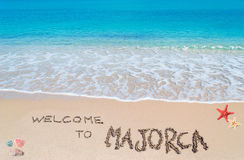 Welcome to Majorca Royalty Free Stock Photo