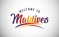 Welcome to Maldives stock photos
