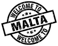 Free Welcome To Malta Stamp Stock Images - 122629364