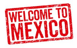 Welcome to Mexico Stock Photography