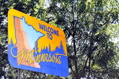 Welcome to Minnesota Royalty Free Stock Image