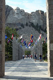 Welcome to Mount Rushmore, South Dakota Royalty Free Stock Image