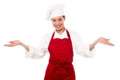 Welcome to my restaurant Stock Image