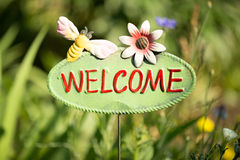 Welcome to nature Stock Photo
