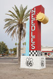 Welcome to Needles California sign Stock Images