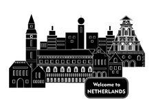 Welcome to netherlands Stock Image