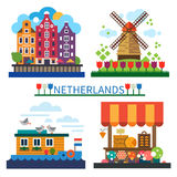Welcome to Netherlands Royalty Free Stock Image