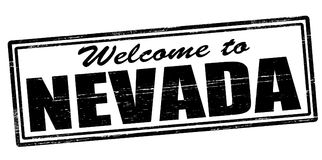Welcome to Nevada. Stamp with text welcome to Nevada inside,  illustration Stock Photography