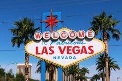 Welcome to Never Sleep city Las Vegas,America,USA Royalty Free Stock Photography