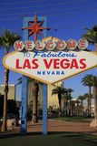 Welcome to Never Sleep city Las Vegas,America,USA Stock Photography