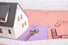 Welcome to new house! Royalty Free Stock Images