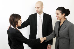 Welcome to the new job Royalty Free Stock Photo