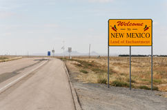 Welcome to New Mexico Royalty Free Stock Photos