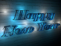 Welcome to the new year Royalty Free Stock Photos