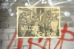 Welcome to New York Royalty Free Stock Image