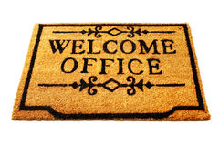 Welcome to Office Royalty Free Stock Photo