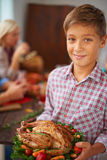 Welcome to our dinner Royalty Free Stock Image