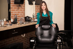 Welcome to our salon Royalty Free Stock Images