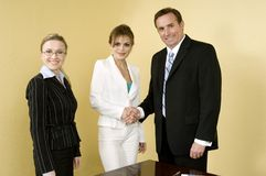 Welcome To Our Team! Stock Image
