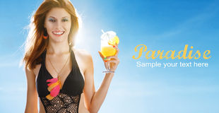 Welcome to paradise Stock Photography