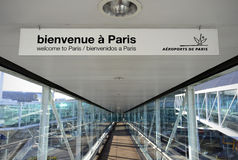 Welcome to Paris Royalty Free Stock Images