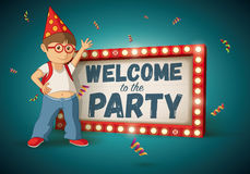 Welcome to the Party Royalty Free Stock Image