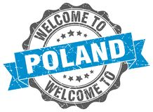 Welcome to Poland seal Stock Photography