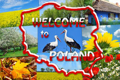 Welcome to Poland Royalty Free Stock Image