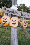 Welcome to the Pumpkin Patch Royalty Free Stock Images