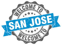 Welcome to San Jose seal Royalty Free Stock Images